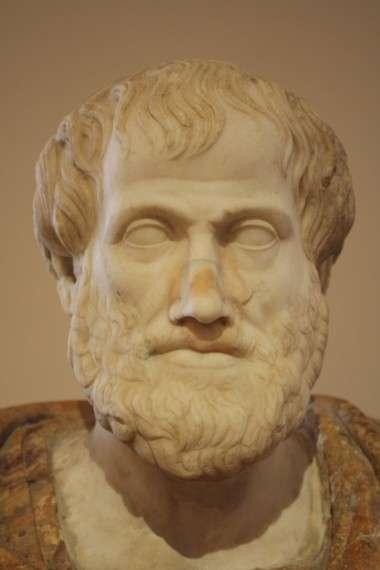 Ο Αριστοτέλης ( 384 - 322 π.Χ. ) ήταν αρχαίος Έλληνας φιλόσοφος και πολυεπιστήμονας, μαθητής του Πλάτωνα και διδάσκαλος του Μεγάλου Αλεξάνδρου.