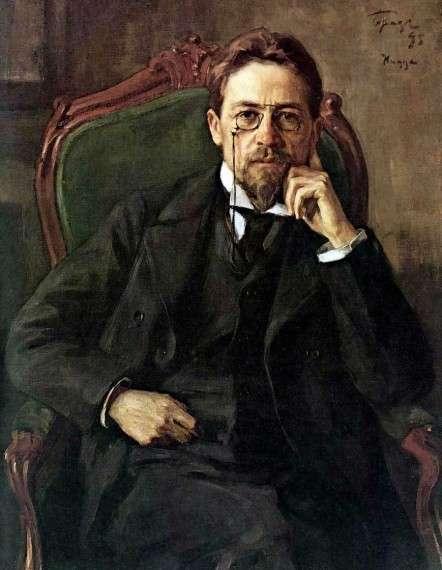 Ο Αντόν Πάβλοβιτς Τσέχωφ' (Ρωσικά: Анто́н Па́влович Че́хов) ήταν Ρώσος συγγραφέας πολλών διηγημάτων και θεατρικών έργων. Γεννήθηκε στις 29 Ιανουαρίου (17 Ιανουαρίου με το παλαιό ημερολόγιο) 1860 στην κωμόπολη Ταγκανρόγκ, στη νότια Ρωσία. Πέθανε στις 02 Ιουλίου 1904 στη γερμανική πόλη Μπαντενβέιλερ και τάφηκε στη Μόσχα στις 09 Ιουλίου 1904.