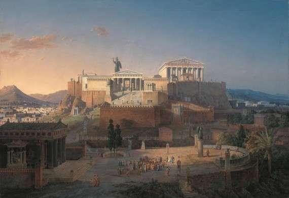 Η Ακρόπολη των Αθηνών από τον Leo von Klenze.