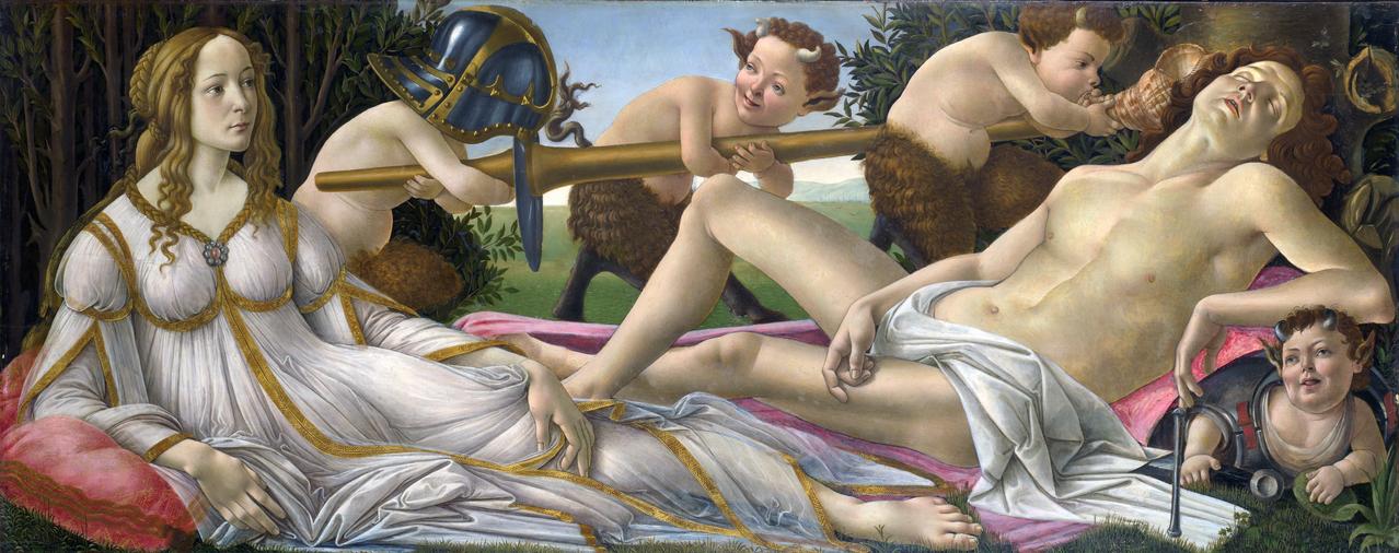 Venus and Mars, 1483