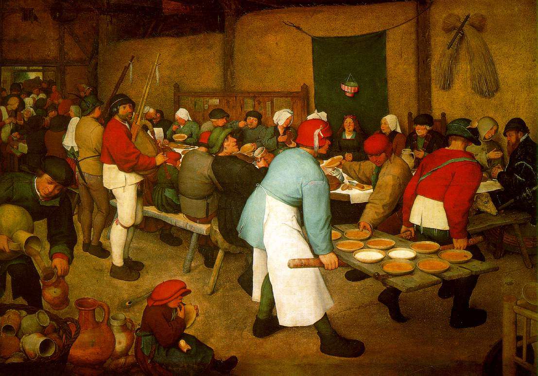 Peasant wedding (Pieter Brueghel the elder)