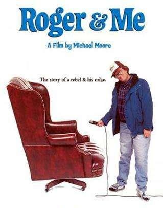 """Η αφίσα του """"Ο Ρότζερ Κι Εγώ"""""""