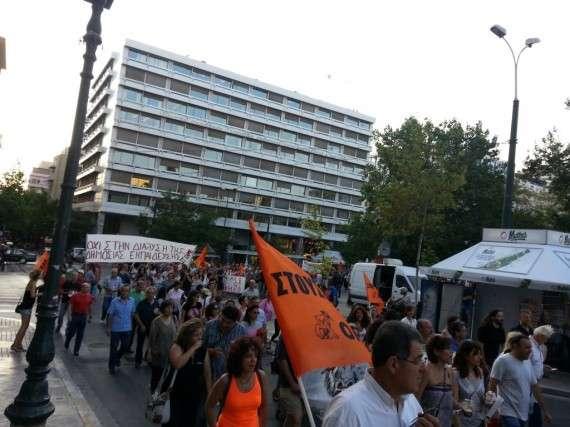 Συλλαλητήριο της ΟΛΜΕ στο Σύνταγμα