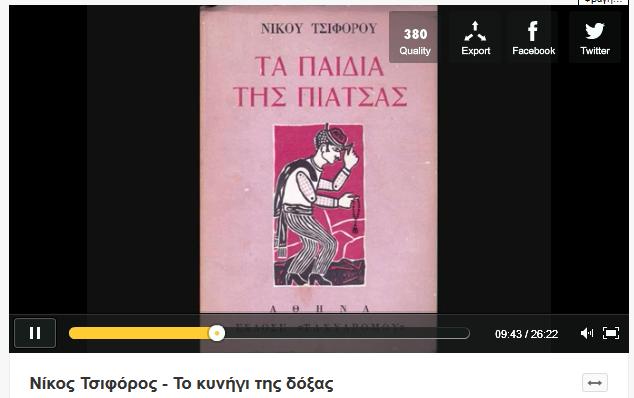 Νίκος Τσιφόρος - Το κυνήγι της δόξας
