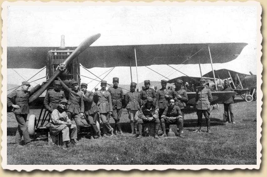 Breguet 14 της στρατιωτικής αεροπορίας στη Μικρά Ασία
