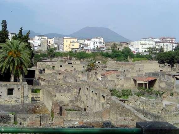 Herculaneum, Ercolano, and Vesuvius