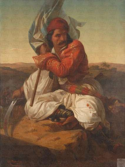 Σπυρίδων Προσαλέντης, Πολεμιστής του 1821 (1862)