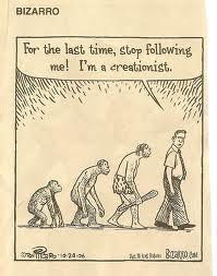 """""""Επιτέλους, σταματήστε να με ακολουθείτε! Είμαι δημιουργιστής."""""""