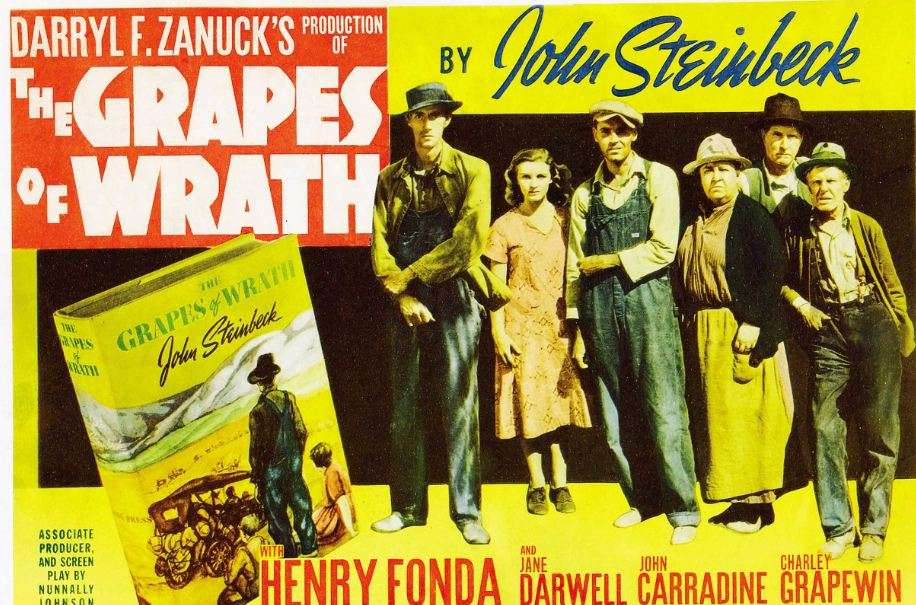 Ο δημιουργικός εγκέφαλος της ταινίας, ωστόσο, ήταν ο σκηνοθέτης Τζoν Φορντ, ο οποίος κέρδισε το όσκαρ σκηνοθεσίας μετατρέποντας, με τη συνδρομή του οπερατέρ Γκρεγκ Τόλαντ, σε αξέχαστες εικόνες τις σελίδες του Στάινμπεκ.