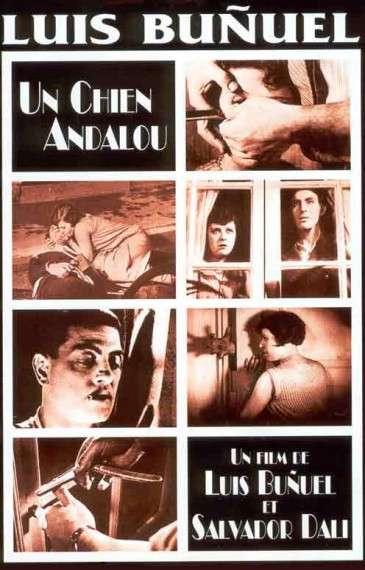 Όταν το 1929 ο Νταλί συνεργάζεται με τον Μπουνιουέλ στην ταινία μικρού μήκους «Ο Ανδαλουσιανός Σκύλος» γίνεται πάταγος ακριβώς γι' αυτό το λόγο. Γιατί απέδωσαν τους συνειρμικούς λαβυρίνθους του ασυνείδητου αδιαφορώντας παντελώς για το απολύτως ακατανόητο αποτέλεσμα, καθώς είχαν προαποφασίσει ότι η λογική δεν έχει καμία σχέση μ' αυτό που επιχειρούν.
