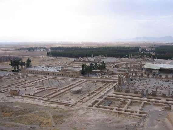 Τα ερείπια της αρχαίας Περσέπολης