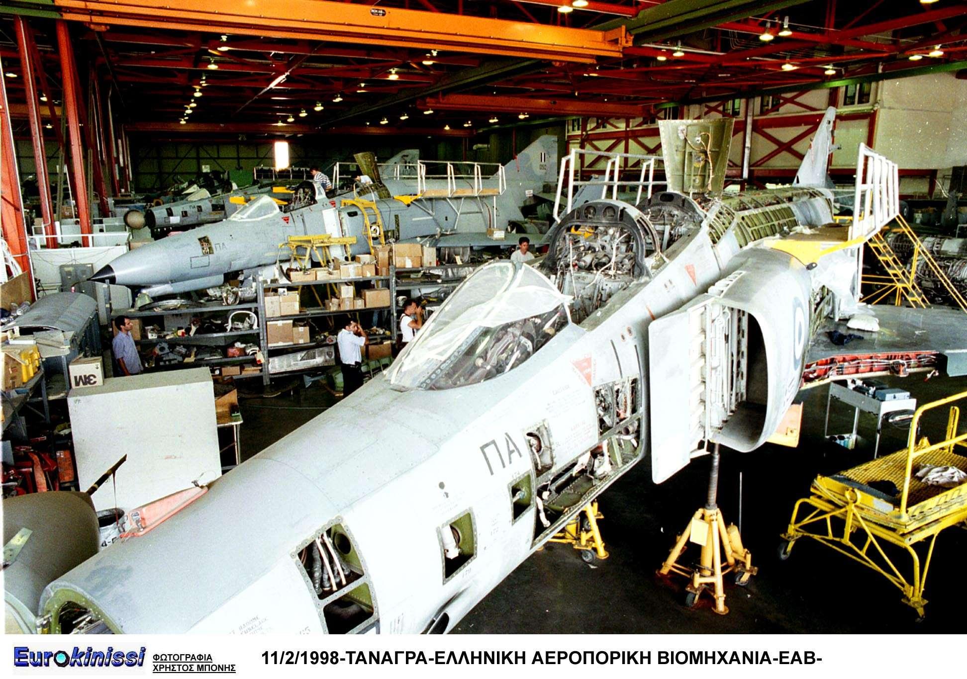 Η συντήρηση μαχητικών της Πολεμικής Αεροπορίας -κυρίως-, αλλά και συμμαχικών Αεροποριών, οι οποίες εμπιστεύονται απόλυτα το ποιοτικό αποτέλεσμα και πληρώνουν σε συνάλλαγμα, καθιστούν την ΕΑΒ σημαντική εξαγωγική δύναμη της Ελλάδας.