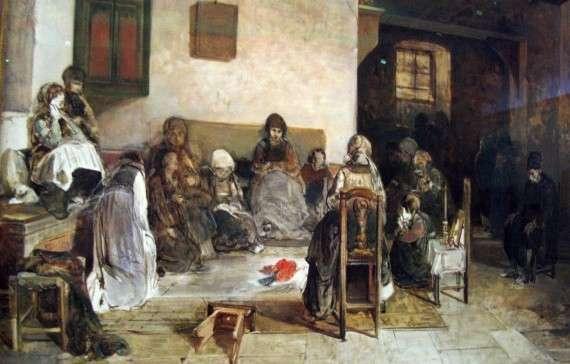 Νικηφόρος Λύτρας, Το Ψαριανό μοιρολόγι, πριν το 1888