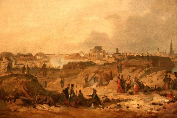 La prise de la citadelle d'Anvers aux Hollandais en décembre 1832 est l'un des deux principaux faits d'armes du duc d'Orléans