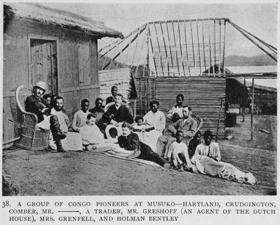 Ευρωπαίοι άποικοι στο Κονγκό
