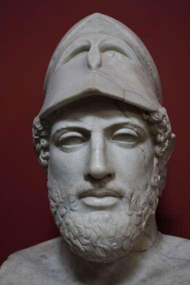 Μαρμάρινη προτομή του Περικλή. Μουσείο Βατικανού, Ρώμη.