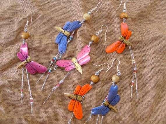 λιβελούλες,!! ...σε χαρούμενα σκουλαρίκια!