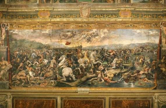 Bătălia de la Podul Milvius, între Constantin și Maxențiu