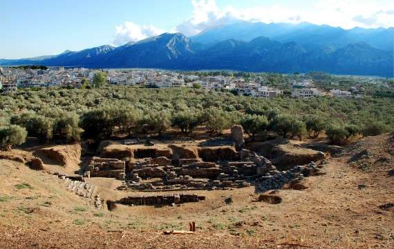 Ερείπια στη Σπάρτη