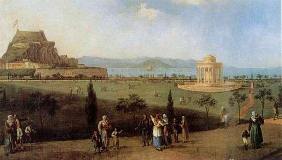 Κέρκυρα - Πλατεία Σπιανάδα