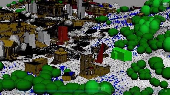 Ψηφιακή απεικόνιση της αρχαίας Αθήνας
