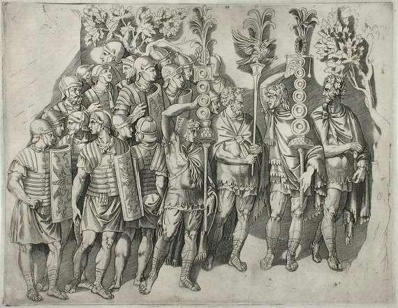 Η λεγεώνα (λατ. legio) ήταν στρατιωτική μονάδα στην αρχαία Ρώμη που αποτελούνταν από 4.000 - 10.000 άνδρες συνήθως. Συγκροτούνταν από 30 τάγματα και κάθε τάγμα είχε 2 εκατονταρχίες. Συνολικά η λεγεώνα είχε 60 εκατονταρχίες.