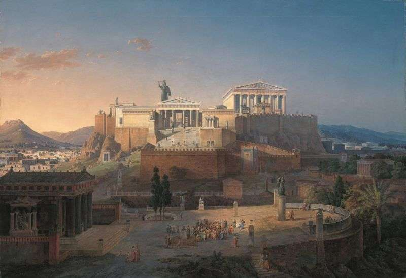 Ο Θεμιστοκλής εμφανίζεται στο έργο του Θουκυδίδη αμέσως μετά τη λήξη του πολέμου, ως ηγετική μορφή, απαράμιλλου κύρους, που μπορούσε να ρυθμίσει όλα τα τεκταινόμενα. Η Ακρόπολη της Αθήνας