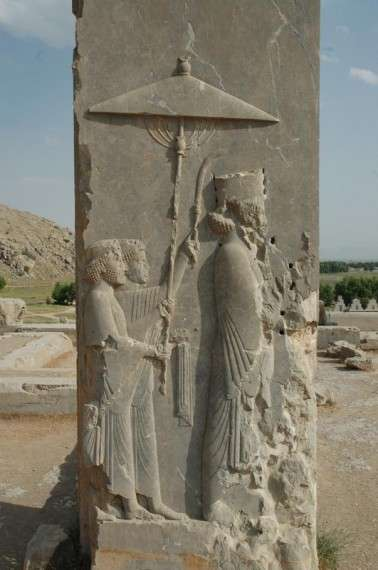 Xerxes I, from Hadish Palace at Persepolis