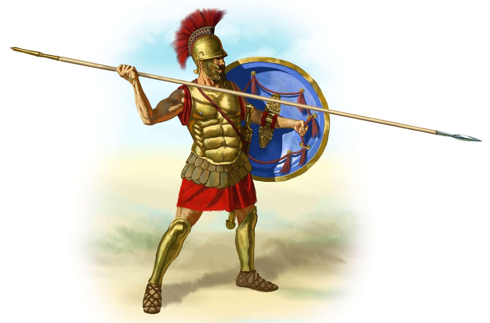 Αρχαίος Έλληνας οπλίτης