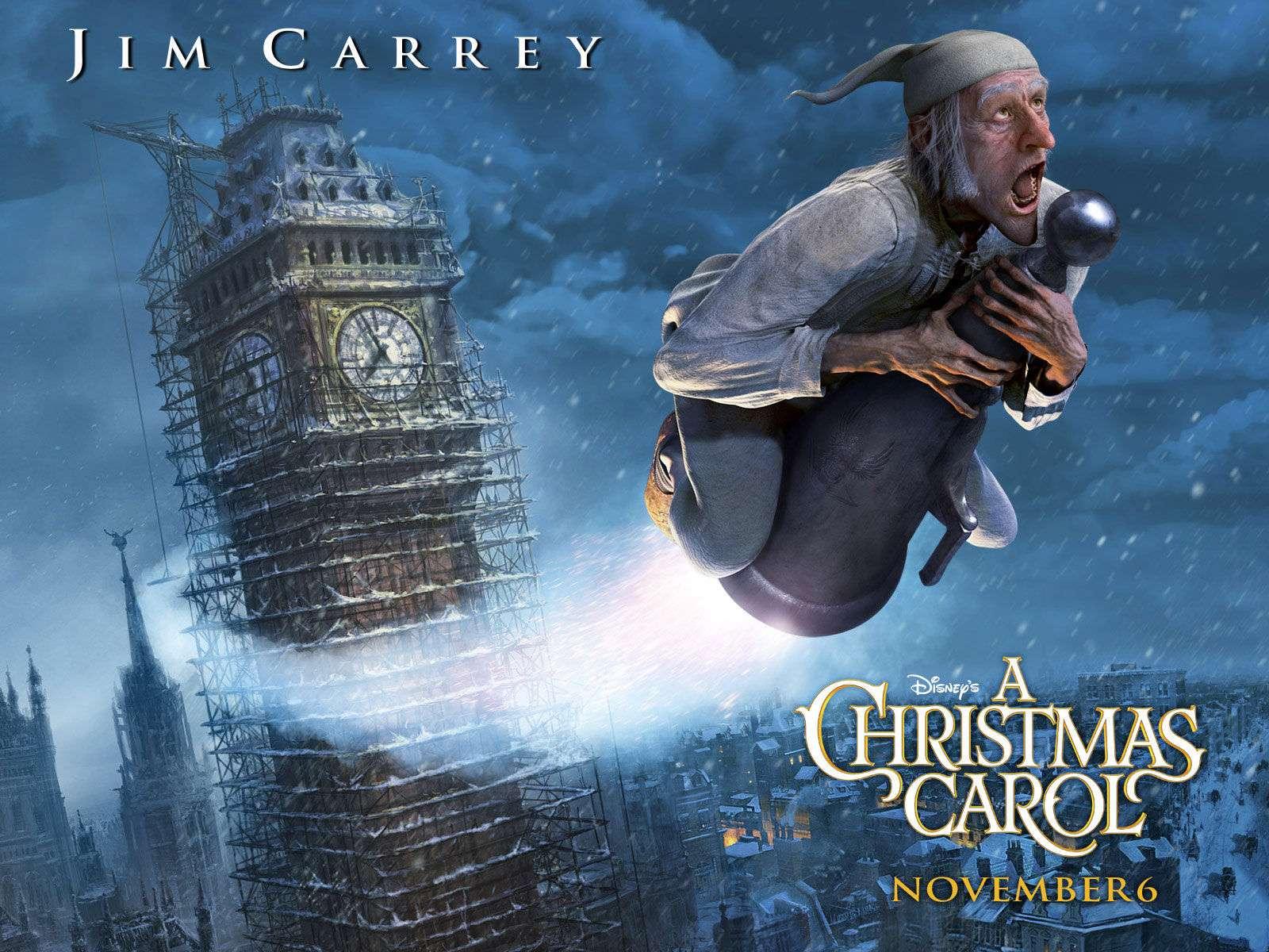 Το πρώτο πνεύμα είναι τα Χριστούγεννα του παρελθόντος. Ο Σκρουτζ παρακολουθεί τους δρόμους των παιδικών του χρόνων. Το πνεύμα τον οδηγεί στο σχολείο.