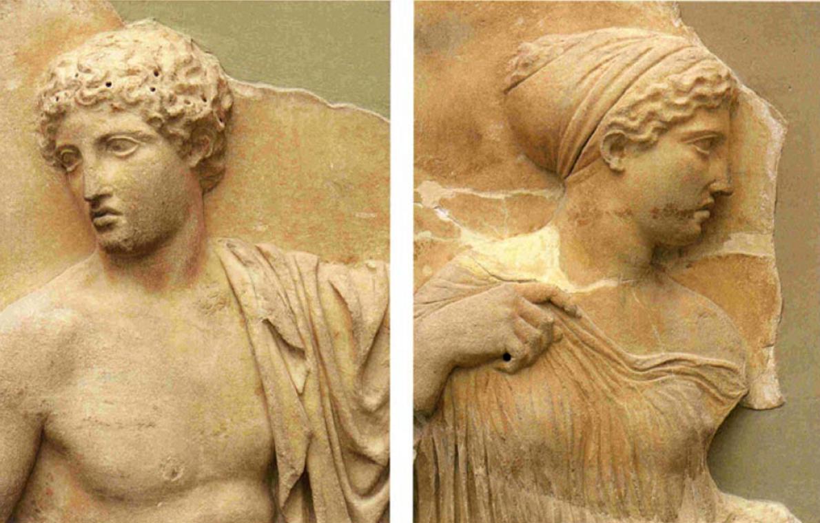 Παρθενώνας, (λεπτομέρεια). Μουσείο της Ακρόπολης, Αθήνα