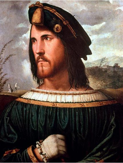 Προσωπογραφία που πιθανόν απεικονίζει τον Καίσαρα Βοργία, από τον Altobello Meloni