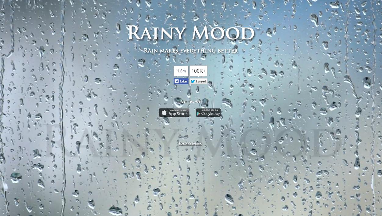 RainyMood - Ο ήχος της βροχής