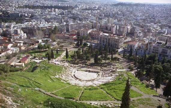 Αρχαίο θέατρο του Διονύσου στην Αθήνα