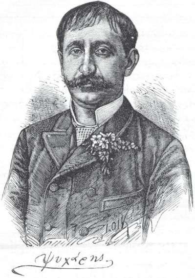 Ξυλογραφία του Ιωάννη Ψυχάρη από το περιοδικό Ποικίλη Στοά του 1888