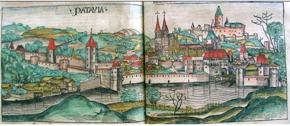 Η γερμανική πόλη Passau