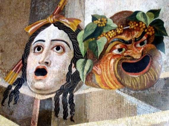 Θεατρικές μάσκες