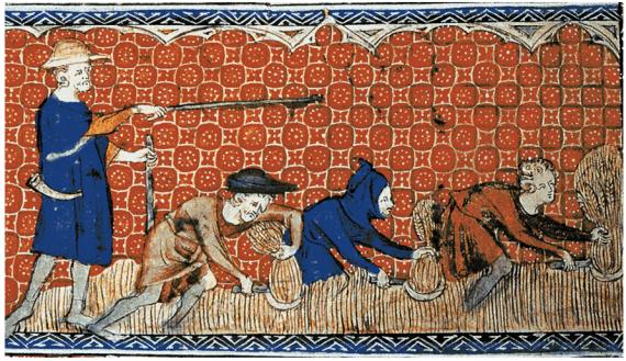 Δουλοπάροικοι στη φεουδαρχική Αγγλία,1310