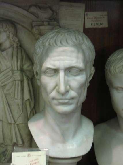 Ο Γάιος Ιούλιος Καίσαρ (λατ. Gaius Julius Caesar) (13 Ιουλίου 101 π.Χ. ή 12 Ιουλίου 100 π.Χ. - 15 Μαρτίου 44 π.Χ.) ήταν η σημαντικότερη προσωπικότητα της ρωμαϊκής ιστορίας. Μέγας στρατηγός και χαρισματικός πολιτικός, άλλαξε την μορφή του πολιτεύματος της Ρώμης ενώ με τις κατακτήσεις του έβαλε τις βάσεις της εξέλιξης του ευρωπαϊκού πολιτισμού.