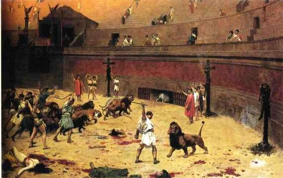 """Departure of Cats from the Circus"" του Jean-Leon Gerome"