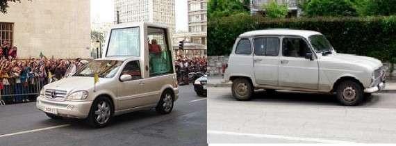 Renault αντί για Mercedes-Benz.