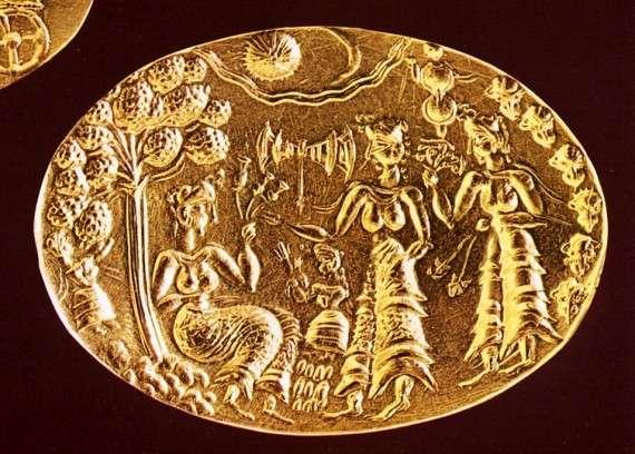 Η μινωική χρυσή σφραγίδα