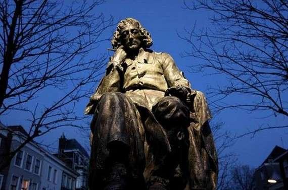 Ο Μπαρούχ Σπινόζα γεννήθηκε στο Άμσταρνταμ το 1632 και πέθανε 44 ετών στη Χάγη, μάλλον από φυματίωση.