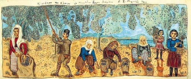 Ο Θεόφιλος Χατζημιχαήλ, ως αυτοδίδακτος ζωγράφος, αποτελεί τον κυριότερο εκπρόσωπο της Ελληνικής λαϊκής ζωγραφικής του περασμένου αιώνα (20ου)