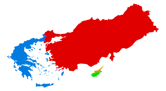 Η διαφορά του γεωπολιτικού δυναμικού ανάμεσα στίς δύο χώρες αυξάνεται συνεχώς υπέρ της Τουρκίας, καί σε 20-30 χρόνια θα είναι αβάσταχτη για την ελληνική πλευρά.