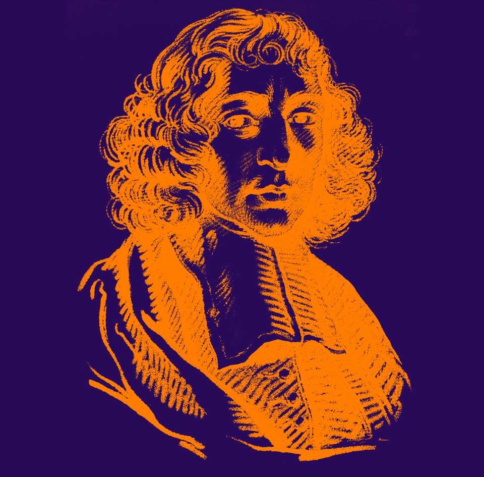 Ο Μπαρούχ Σπινόζα (Baruch Spinoza, 24 Νοεμβρίου 1632 - 21 Φεβρουαρίου 1677)