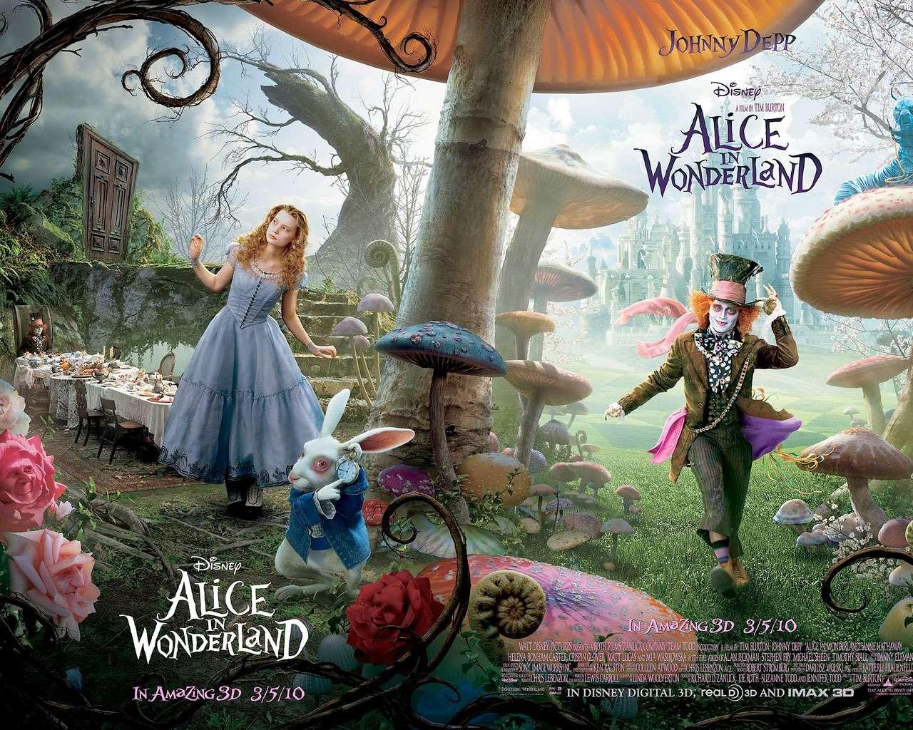 """Η Αλίκη στη Χώρα των Θαυμάτων (2010) """"Alice in Wonderland"""""""