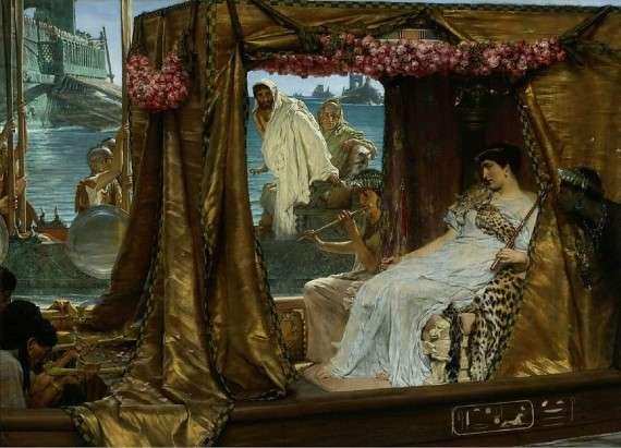 Sir Lawrence Alma-Tadema (1883) Antony and Cleopatra