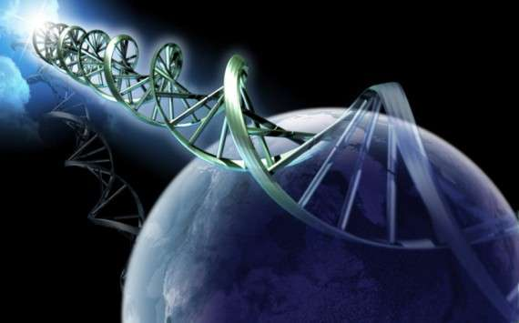 Dna on earth