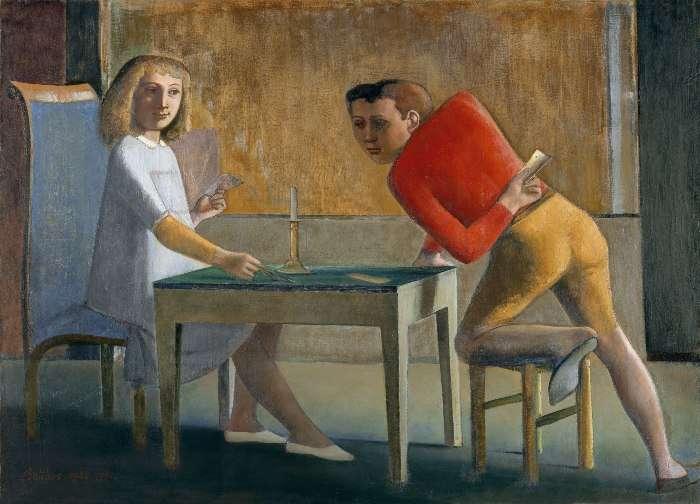 MΠΑΛΤΎΣ, «ΤΟ ΠΑΙΧΝΊΔΙ ΜΕ ΤΙΣ ΚΆΡΤΕΣ», 1948-1950